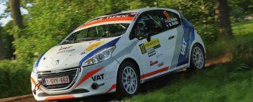 Gert-Jan Kobus & Martin Nortier - Peugeot 208 R2 - ELE Rally 2019