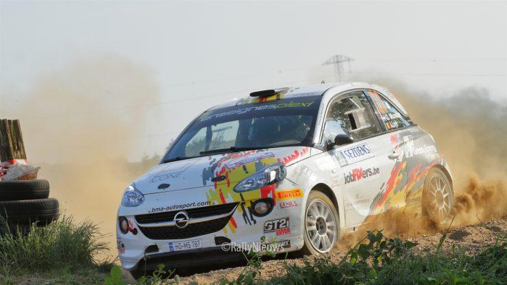 Grégoire Munster & André Leyh - Opel Adam R2 - Sezoensrally 2018