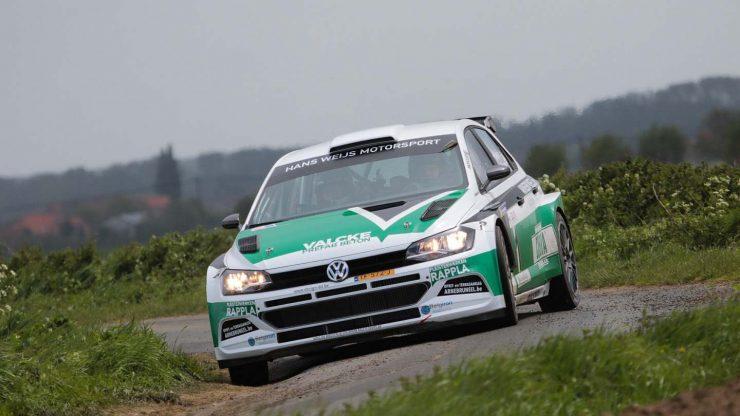 Hans Weijs & Arne Bruneel - Volkswagen Polo R5 - Monteberg Rally 2019