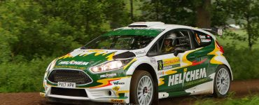 Henk Vossen en Johan Findhammer - Ford Fiesta R5 - ELE Rally 2018