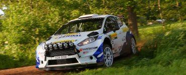 Jasper van den Heuvel en Lisette Bakker - Ford Fiesta R5 - ELE Rally 2019
