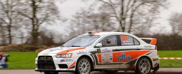 Pierre Brouwer & Paul Helmink - Mitsubishi Lancer Evo X - Zuiderzeerally 2019