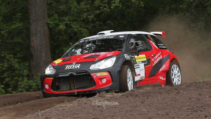 Roald Leemans & Christiaan Paul van Waardenburg - DS3 R5 - ELE Rally 2019