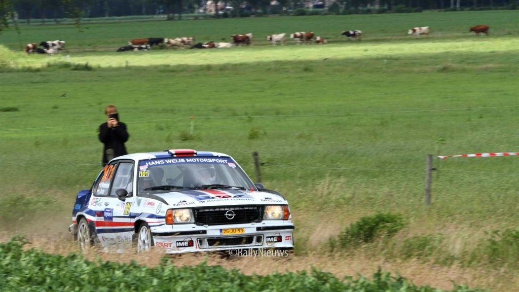Janjur Monshouwer & Erwin Docter - Opel Ascona 400 - Vechtdal Shortrally 2019