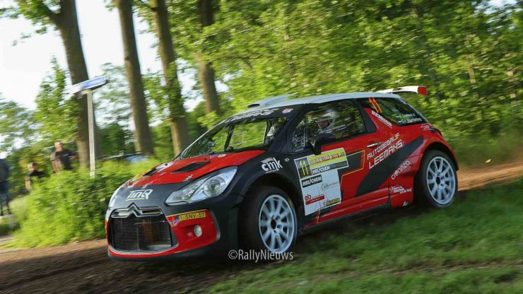 Roald Leemans & Christiaan Paul van Waardenburg - Citroën DS3 R5 - ELE Rally 2019