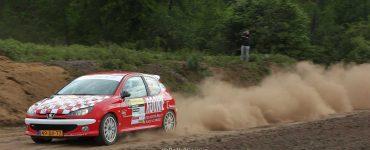Wim Stevens & Wesley Stevens - Peugeot 206 RC - ELE Rally 2019