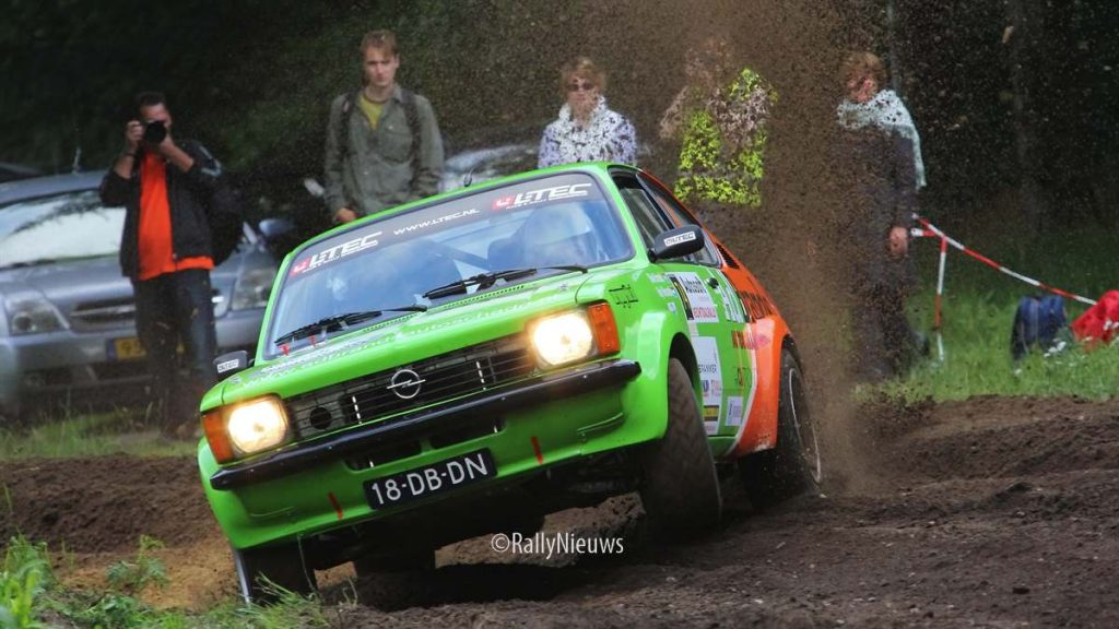Mark Brands & Roy Vincentie - Opel Kadett - Vechtdalrally