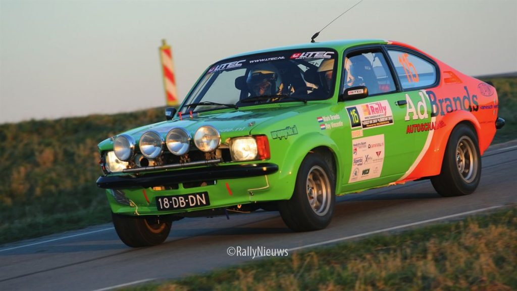 Mark Brands & Roy Vincentie - Opel Kadett - TankS Shortrally 2011