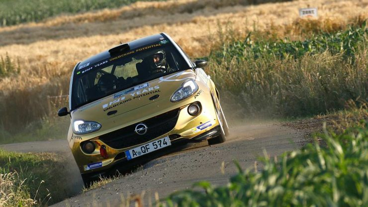 Timo van der Marel - Opel Adam R2 - Ypres Rally 2019