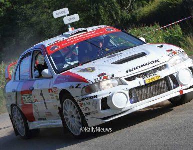 Piet van Hoof - E. van Aken - Mitsubishi Lancer Evo IV - Short Rally Kasterlee 2019