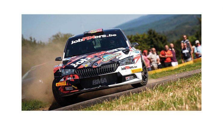 Pieter-Jan Michiel Cracco - Skoda Fabia R5 - ADAC Rallye Deutschland 2019