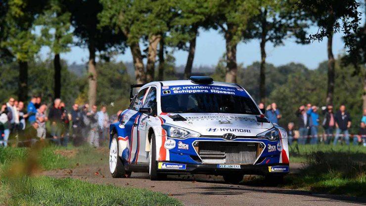 Bob de Jong & Bjorn Degandt - Hyundai i20 R5 - Hellendoornrally 2019