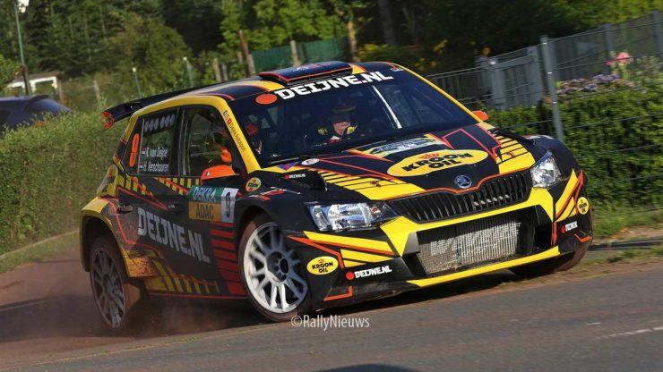 Kevin van Deijne & Hein Verschuuren - Skoda Fabia R5 - ADAC Rallye Sulingen 2019