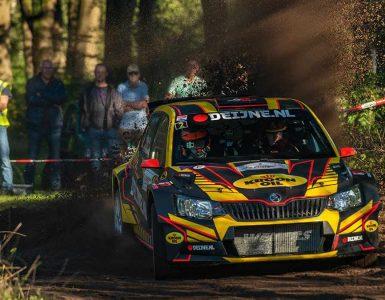 Kevin van Deijne & Hein Verschuuren - Skoda Fabia R5 - Hellendoornrally 2019