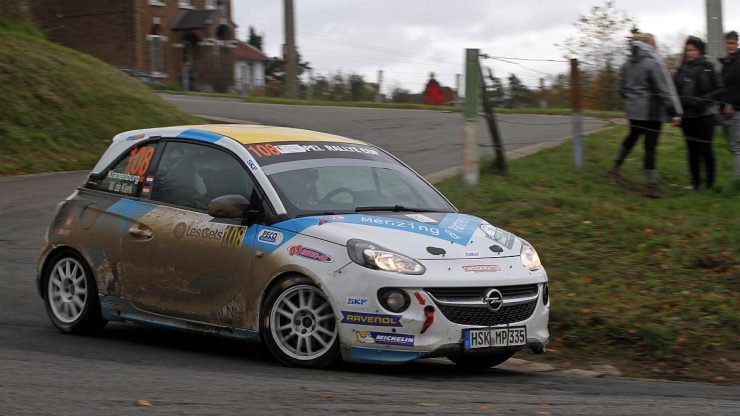Ernst Kranenburg & Wout de Klerk - Opel Adam - Rallye du Condroz 2019 (4)