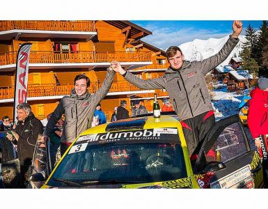 Gregoire Munster & Louis Louka - Skoda Fabia R5 - Rallye National Hivernal du Dévoluy 2019