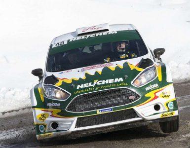 Henk Vossen & Erwin Berkhof - Ford Fiesta R5 - Rally Monte Carlo 2020