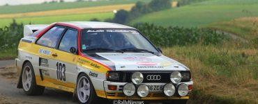 Audi Quattro - ADAC Eifel Rallye Festival 2012