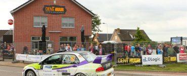 Michel Kolen & Glen van Campen - Mitsubishi Lancer Evo VII - GTC Rally 2013