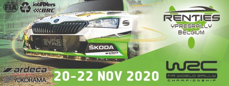 Ypres Rally WRC 2020