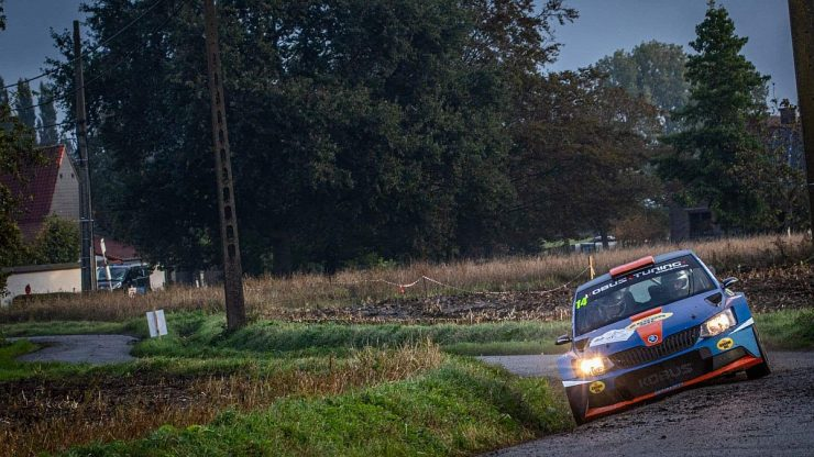 Gert-Jan Kobus & Erik de Wild - Skoda Fabia R5 - Aarova Rally 2020