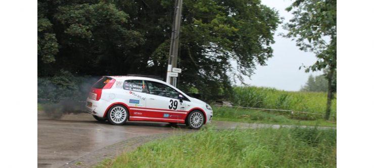 Ruud Middel & Simone Middel - Fiat Grande Punto Abarth - Short Rally Kasterlee 2021