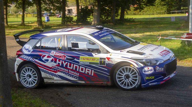 Bob de Jong & Bjorn Degandt - Hyundai i20 R5 - ELE Rally 2021