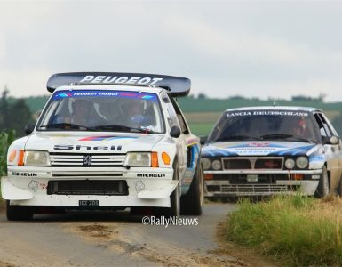 Peugeot 205 & Lancia Delta - Eifel Rallye Festival 2012